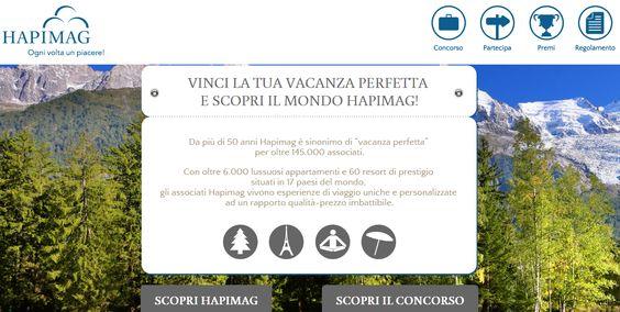 http://vacanzaperfetta.hapimag.com/ Concorso Hapimag - Vinci La Tua Vacanza Perfetta