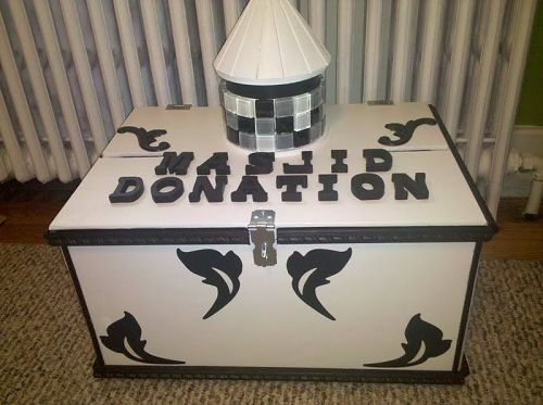 Gallery - Masjid mosque Donation Box Charity Donation boxes | Donation box, Donate to charity, Toy chest
