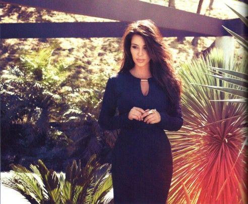 Geggjaður kjóll.  Kim Kardashian Kardashian Kollection Belle Noel InStyle