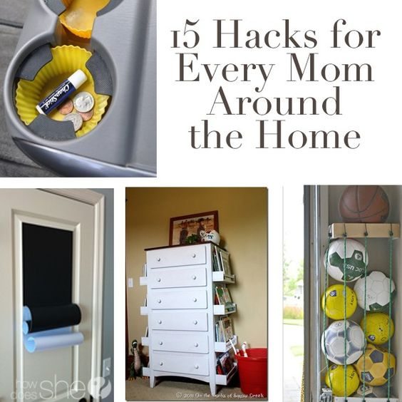 15 hacks for every mom around the home machine a mom for Household hacks