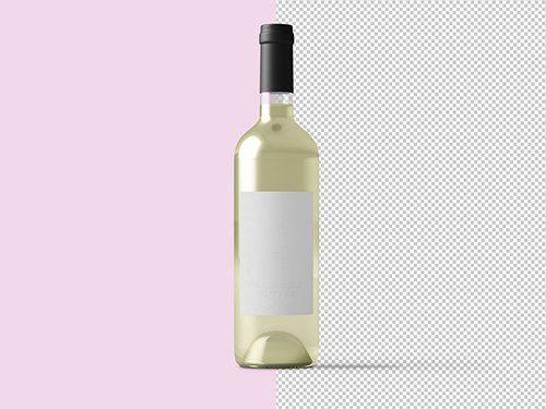 White Wine Bottle Mockup 236521057 Free Psd Templates Bottle Mockup Wine Bottle Design Wine Bottle