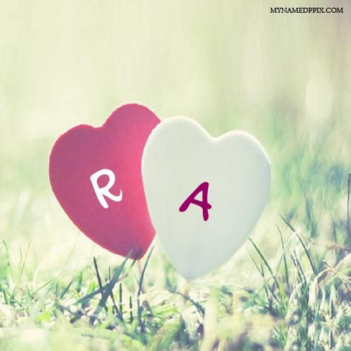 Couple Name Alphabet Letter In Heart Image