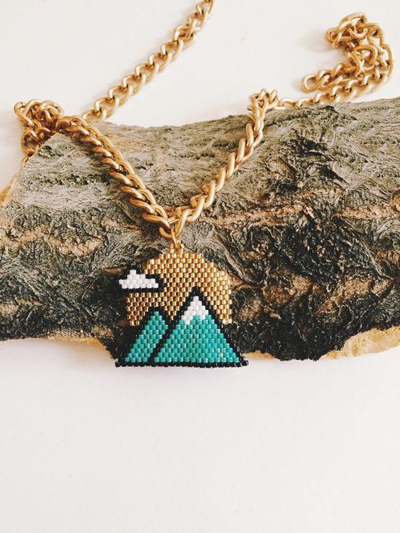 Collier de Twin peaks
