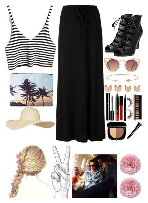 """~What's the fun in doing what your told?~"" by little-miss-rae-rae ❤ liked on Polyvore featuring Splendid, Forever 21, Topshop, mizuki, Maison Margiela, Chanel, NARS Cosmetics, Witchery, Bobbi Brown Cosmetics and Rimini"