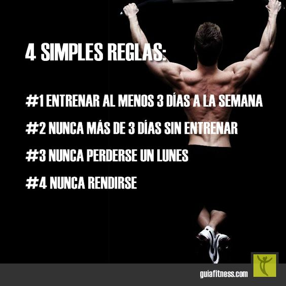 4 simples reglas para lograr tus objetivos