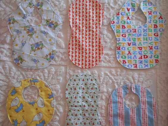 It's a Boy - Burp Cloths and Bibs by TheRedGeranium on Etsy