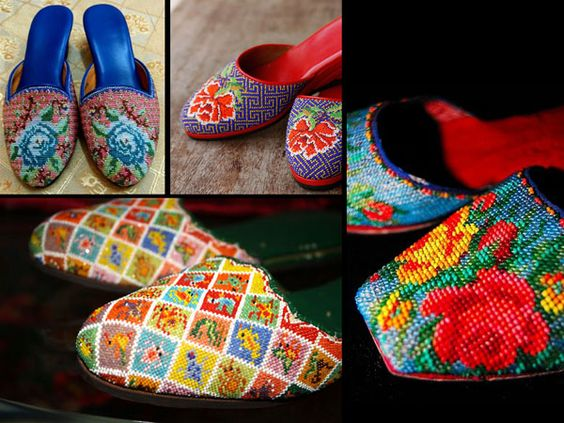 Những đôi giày tuyệt đẹp từ đôi bàn tay của người phụ nữ Peranakan