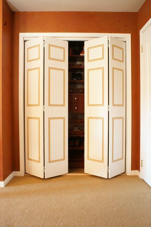 Routed 4 6 Panel Bifold Doors With Images Bifold Doors Doors Slider Door