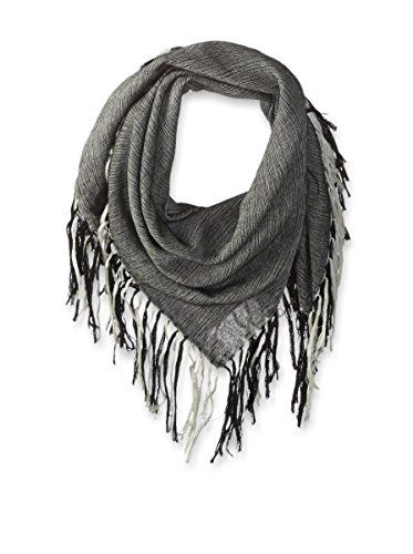 Denis Colomb Women's Angkor Wat Shawl, Black/White