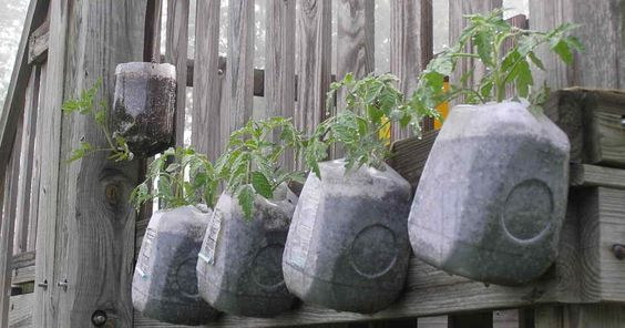 The Art Of Up-Cycling: Backyard Garden Ideas, Upcycling Ideas For ...