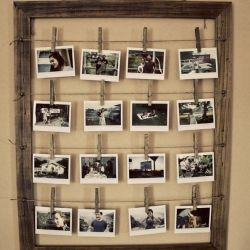 How To Make A Stylish Photo Frame For Several Photos