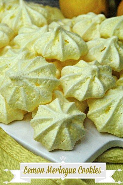 The Best Lemon Meringue Cookies Recipe - Ottawa Mommy Club - Moms and Kids…