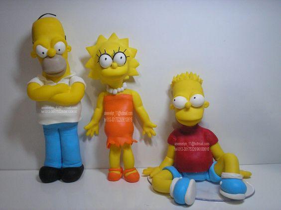 Lisa Simpson and Bart Do It   Amu fazer personagens ...Amu de paixão ...adorei fazer os Simpsons