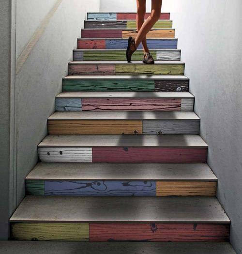 escada diferente