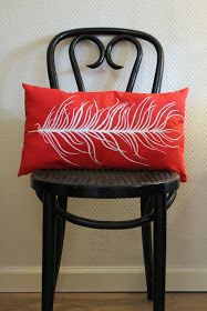 The Sassy Pickle: Pinterest Challenge: Feather Pillow Edition
