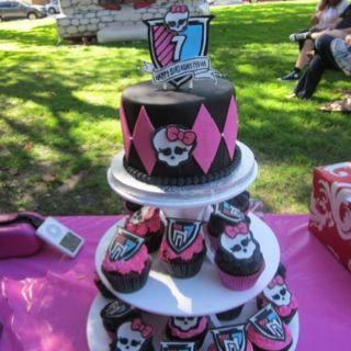 Monster High Cupcake Tower