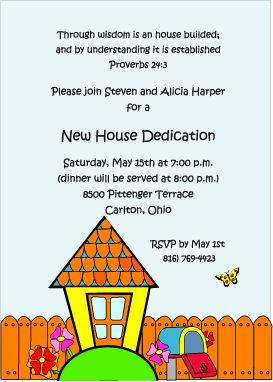 House blessing, Invitations and Friends on Pinterest