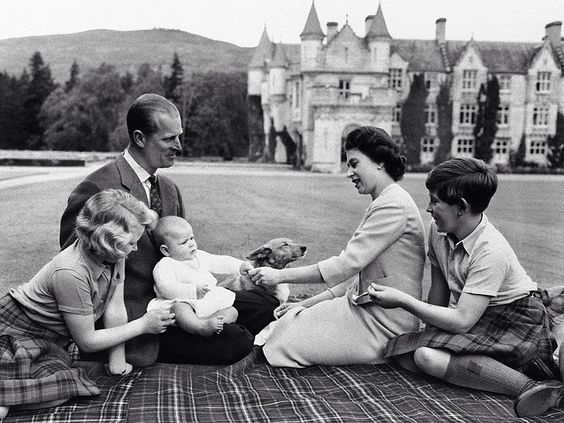 Balmoral Castle 1960