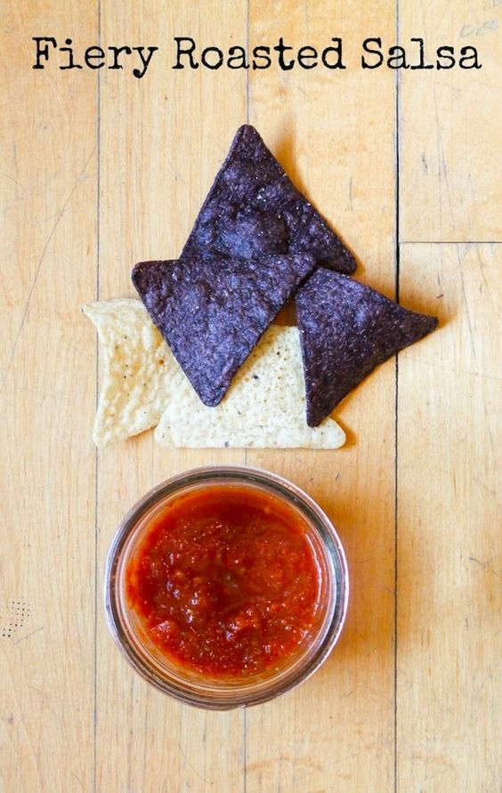 Fiery Roasted Salsa | a #canning recipe! from heartbeet kitchen