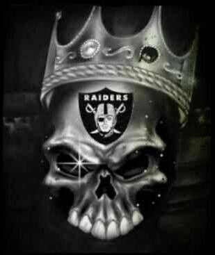 raider skull king raider nation pinterest skulls