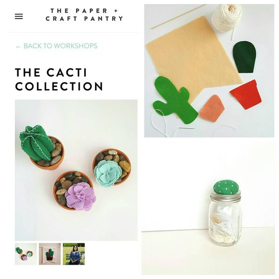 Sign up for a fun workshop in Austin,TX! #DIY #Workshop #felt #Cactus #art #gifts #holidays