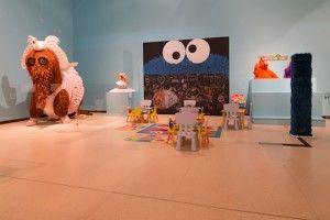 Celebrating 45 years of Sesame Street - Exhibit at the New York Public Library