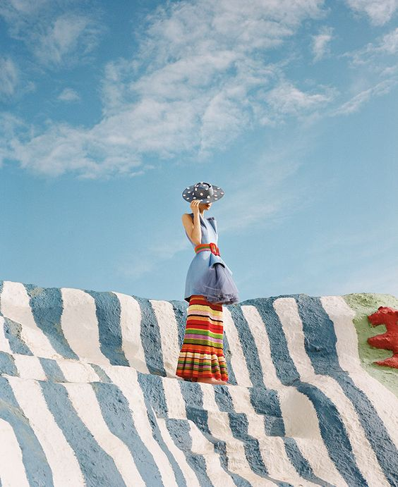 Paper Magazine - A Fashion pilgrimage to Salvation Mountain by JUCO