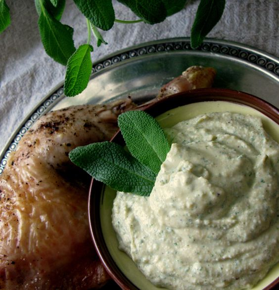 chicken with sage sauce