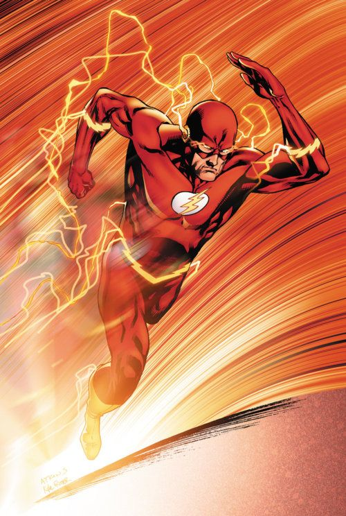 """The Flash in Action. In my essay """"Another Me Would've..."""", I explain how I earned the nickname """"Flash"""" based on this character."""
