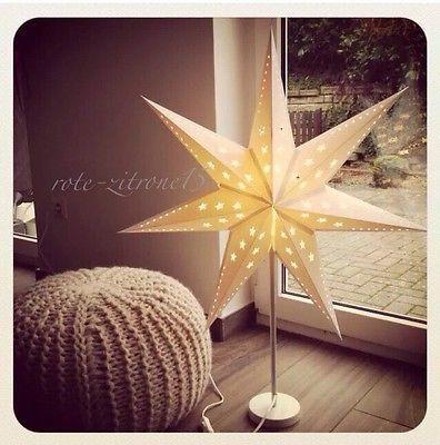 IKEA STRÅLA Tischleuchte Stern Weihnachten Weihnachtsdekoration Lampe Licht Neu