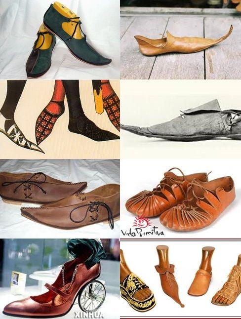 En Punta Época Medieval Un P4axpz Introdujo La Se De Tipo Zapato EwR81q1X
