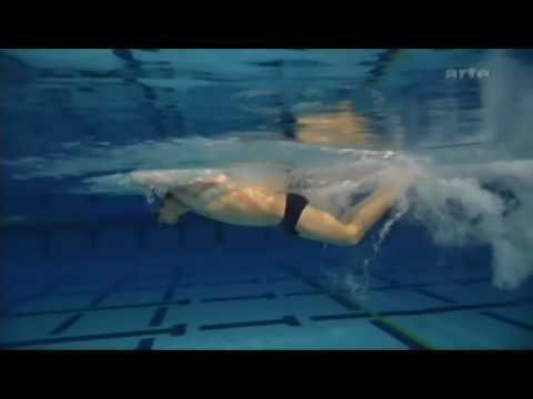 Michael Phelps slow-mo butterfly. Check out those freak flipper feet.