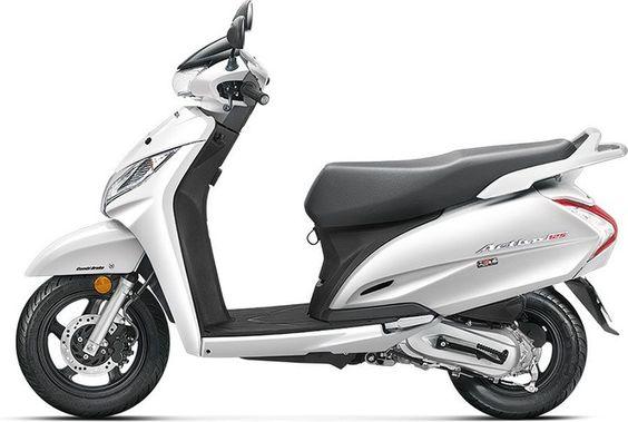 Pin By Gaadikey On Honda Motorcycles White Motorcycle Honda