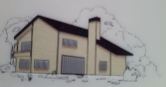 K25C színnel családi ház.