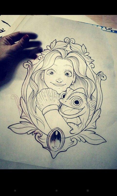 Pin De Alicia Martinez Em Dibujos A Color Esbocos Disney Ideias De Desenhos Para Tatuagens Desenhos Para Coloriri