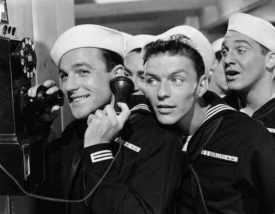 Gene Kelly & Frank Sinatra in Anchors Aweigh