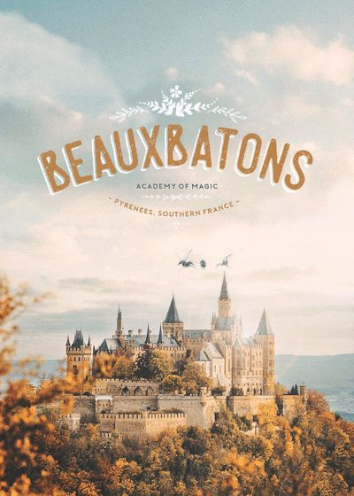 Harry Potter - Beauxbatons gif: