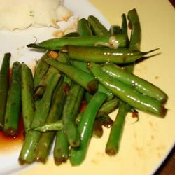 Dad's Pan-Fried Green Beans Allrecipes.com