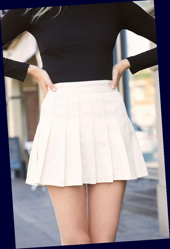 """John Galt Womens Pleated Skirt - White : Go for a preppy look this season with the Pleated Skirt from John Galt. This mini skirt boasts a tennis-skirt silhouette, a back zipper closure, and a cotton fabrication. Pleated skirt Tennis silhouette Zipper back closure 60% cotton 40% polyester Machine washable Fits size 23"""" - 25"""" waist John Galt Womens Pleated Skirt - White #John #Galt #Womens"""