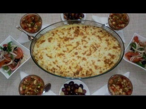 سلسلة وجبات عشاء وجبة يوم الثلاثاء كراتان بالبطاطس و اللحم المفروم سلطة باردة سلطة فواكه Youtube