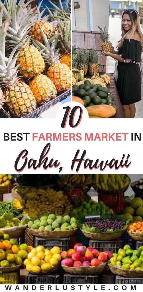 Farmers Market On Oahu In 2020 Oahu Travel Oahu Vacation Oahu Hawaii