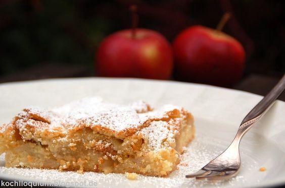 Ko(ch)lloquium: Weil es sein muss: Apfelkuchen vom Blech