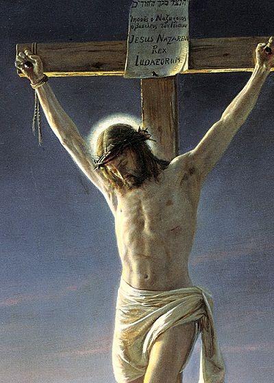 Heinrich Bloch: Crucifixión.: