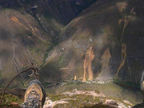 Vue sur le Canyon del Sonche, Huancas Chachapoyas