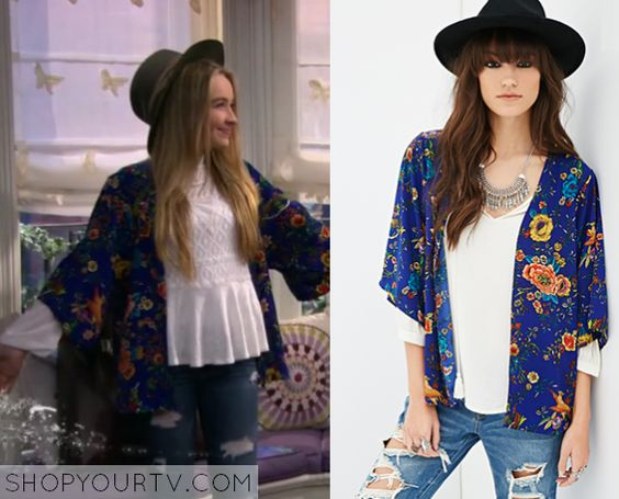 Girl Meets World Maya And Kimonos On Pinterest