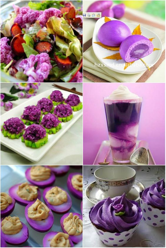 The Power of Purple Foods: Purple foods contain anthocyanins, which are health-promoting chemicals that help protect cells and heal your body... Dr.  Oz