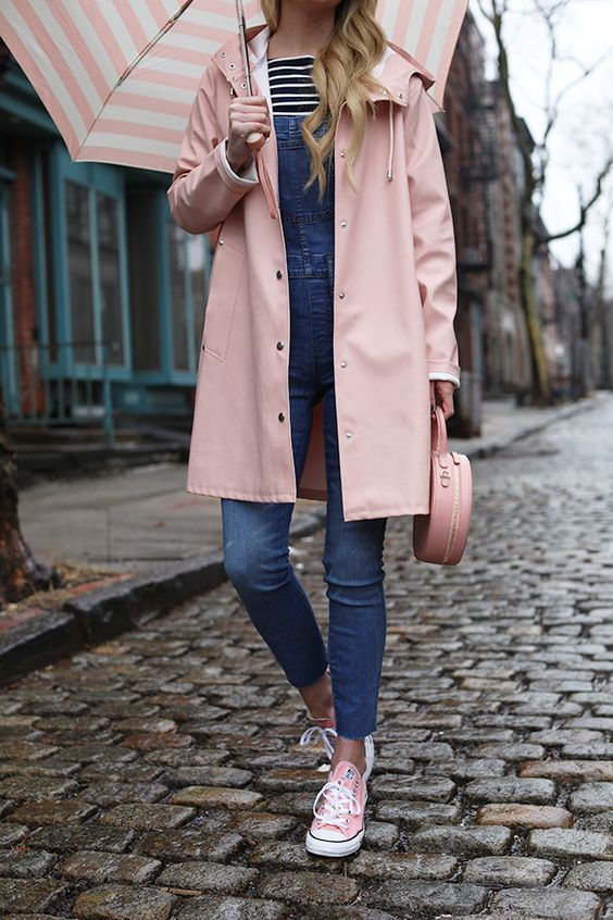 40+ How To Look Stylish Under Your Umbrella In Rainy Day