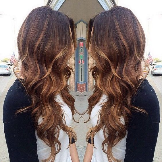 40 Hottest Hair Color Ideas For 2017  Brown Red Blonde Balayage Ombre