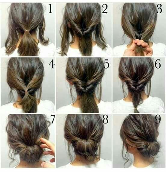 Pin By Sahana Sultana On Khopa Hair Styles Short Hair Styles Long Hair Styles