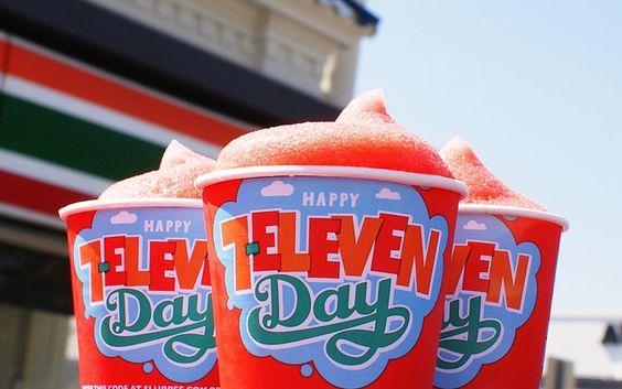 Get a Free Slurpee on 7-Eleven Day